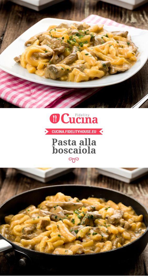 Chanterelle Bucatini Alla Boscaiola Recipe — Dishmaps