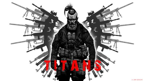 Test Teaser TITANS, Jan Goszyk on ArtStation at https://www.artstation.com/artwork/test-teaser-titans