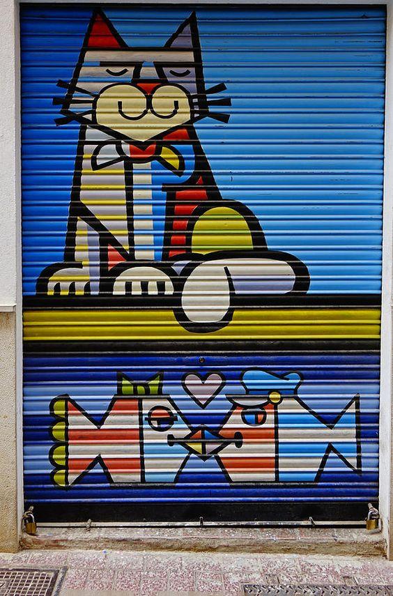 Street Art Photograph - Street Art In Palma Majorca Spain by Richard Rosenshein