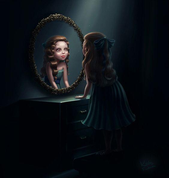 Resultado de imagen para personajes de niños en el espejo