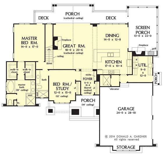 Mountain home plan 1368 now available home - Mountain home plans with walkout basement ...