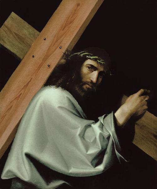 "Bartolomeo Montagna ~ ""Christ Bearing the Cross"", ca. 1515"