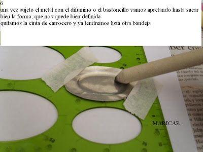 "Great alternative method for DIY miniature ""metal"" plates"
