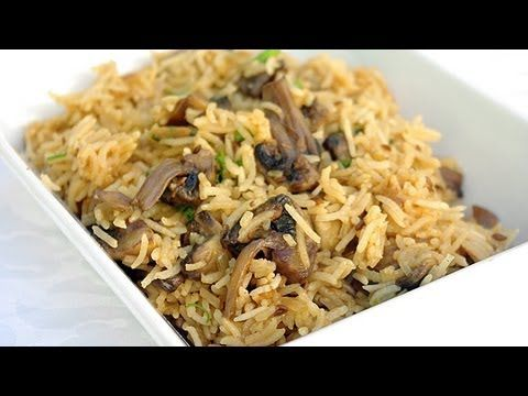 Riz aux champignons à l'indienne en vidéo - Cuisine vegetarienne et recettes indiennes video