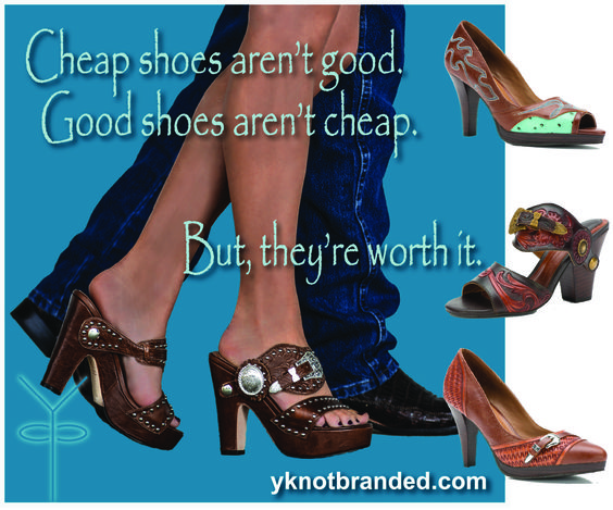 Cheap shoes aren't good. Good shoes aren't cheap - but they're ...