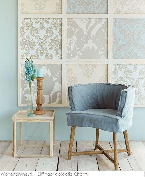 Eijffinger behang collectie charm verkrijgbaar bij deco home bos in boxmeer behang wallpaper - Deco woonkamer behang ...