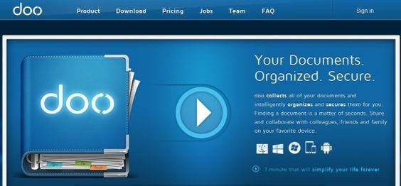 Doo.net importa, reconoce su contenido y organiza de forma automática tus documentos