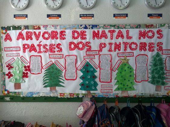 A árvore de Natal  unidade Barra