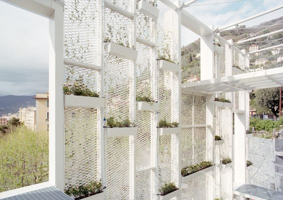 Green Facade in Camogli, Italy by Gosplan, 2012