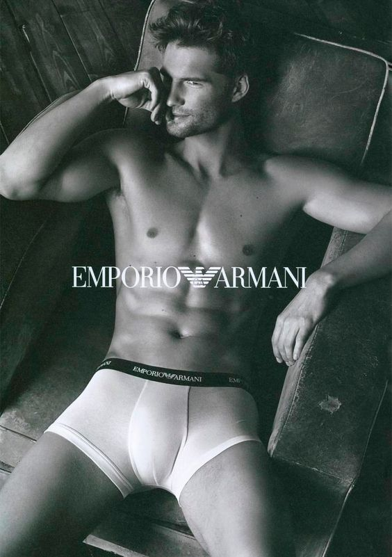 Tomas Skoloudik show some skin on the new Fall/Winter 2013 Underwear campaign of Emporio Armani, shot by Giampaolo Sgura.
