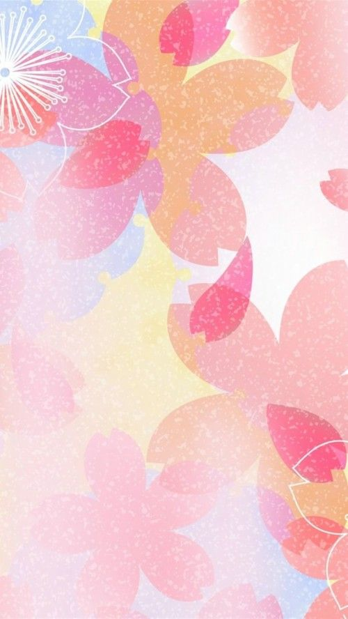 Abstract Cool Pink Iphone Wallpaper Cool Flower Pink Pink Iphone