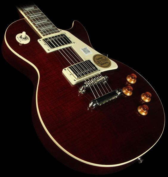Epiphone Les Paul Plus Top Pro Electric Guitar Wine Red | The Music Zoo