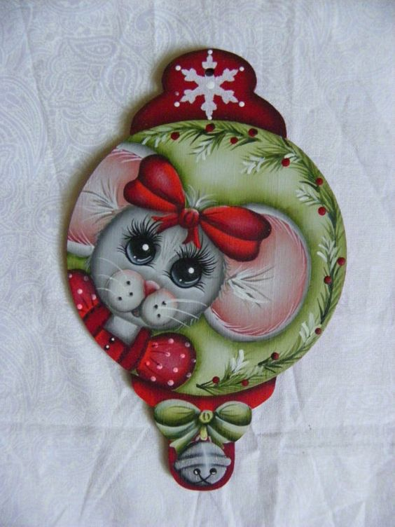 Miss Merry Mouse por Sharonkdesigns en Etsy