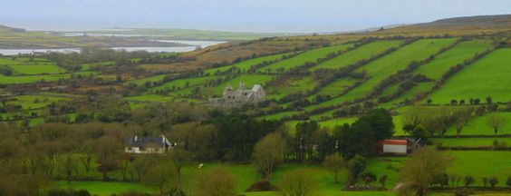 {Erin Patters-2012}    Galway, Ireland  From atop the mountain!