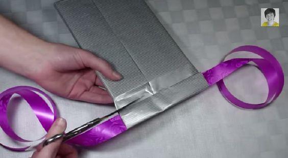 un emballage cadeau pour homme comme vous n 39 en avez jamais vu paquets cadeaux pinterest. Black Bedroom Furniture Sets. Home Design Ideas