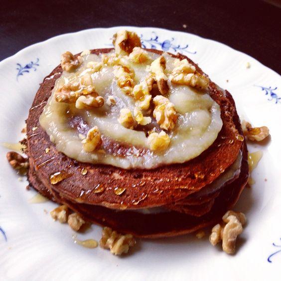 high protein Kokosnuss-Pancakes