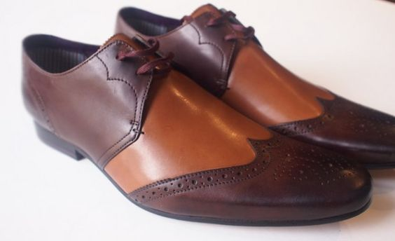 Ted Baker brogue derby $220 from Gotstyle Menswear.