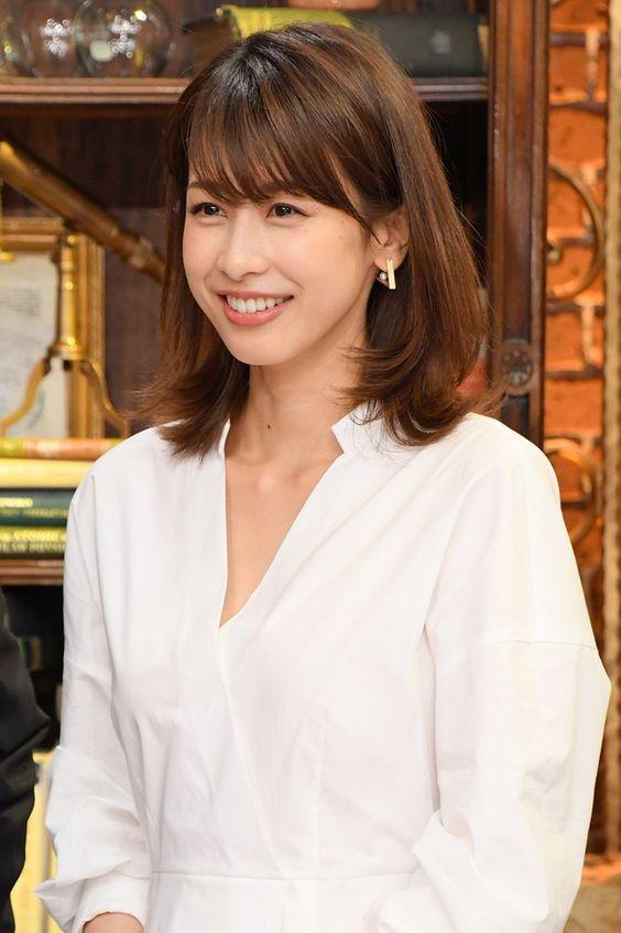 笑顔が素敵な加藤綾子