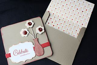 Cricut card and envelope