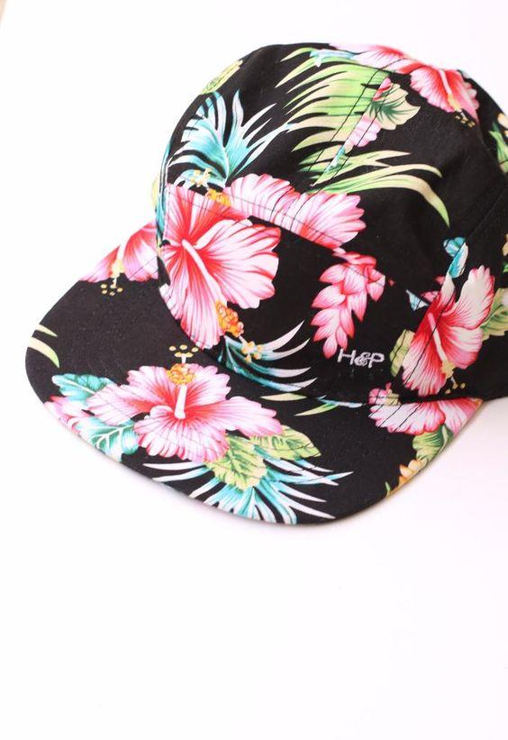 Riffe Floral Hat