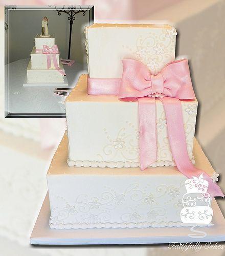 Pink Bow Wedding