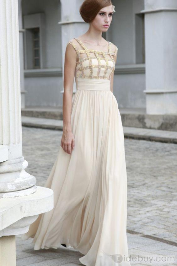...: Wedding Idea, Weddingdress, Evening Dresses, Ivory Wedding Dresses, Chiffon Prom Dresses