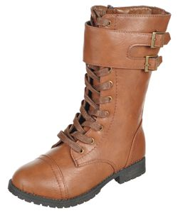 "Eddie Marc Girls ""Baily"" Boots (Toddler Sizes 5 – 10) $24.99"