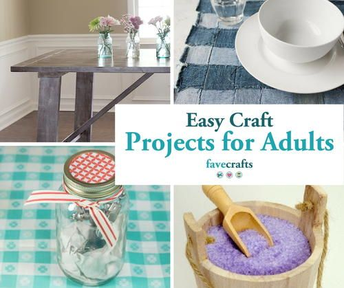 44 Easy Craft Projects For Adults Craft Projects For Adults