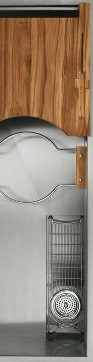 Stainless-steel sinks from Kallista bring high-end multi-tasking to ...