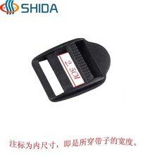 El envío libre 100 PCS 25mm hebillas plásticas para la pulsera de Paracord correas Release Hebillas para accesorios del bolso packbags(China (Mainland))