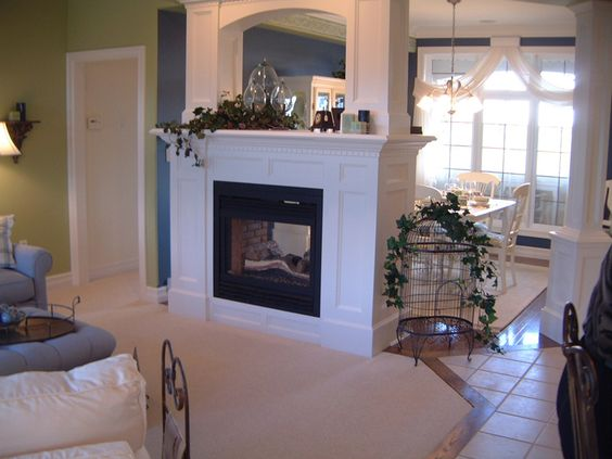 3 sidedfireplace | Design Portfolio