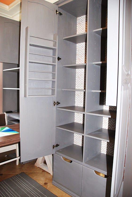 Перекраска кухонных шкафов, сделанных своими руками