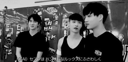 sehun feeling shy when kaixing praised his dancing (1/3)