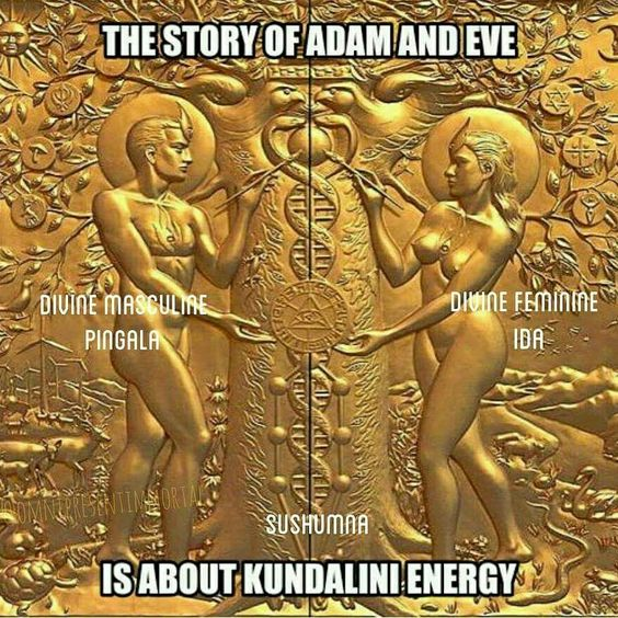 Kundalini, meaning The Serpent of Satan: