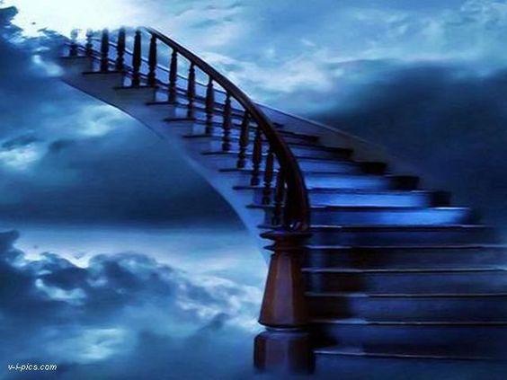 Stairway To Heaven Angel S Path Upward Spiral Powered