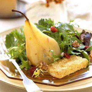 Champagne-Poached Pear Salad | salad and fruit ...