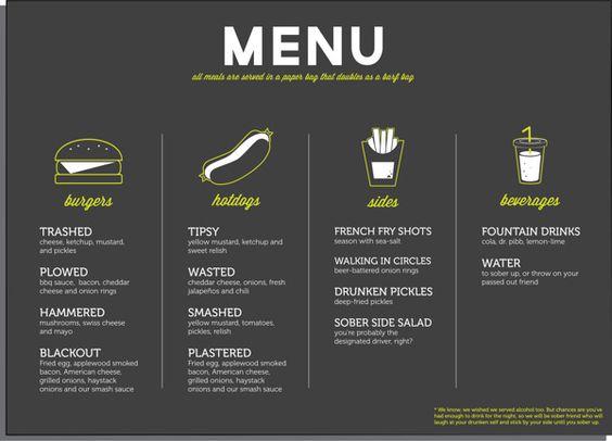Food truck menu design restaurant branding for Food truck menu design