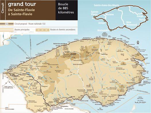 Gaspésie je t'aime - Circuit grand tour de la Gaspésie