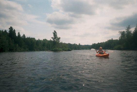 take me kayaking