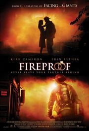Fireproof is a really awesome movie with great advice on how a marriage should and can be! <3