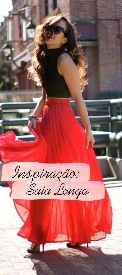 Saia Longa | Maxi Skirt