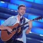 Phillip Phillips performs on American Idol Tuesday night. (FOX Photo)