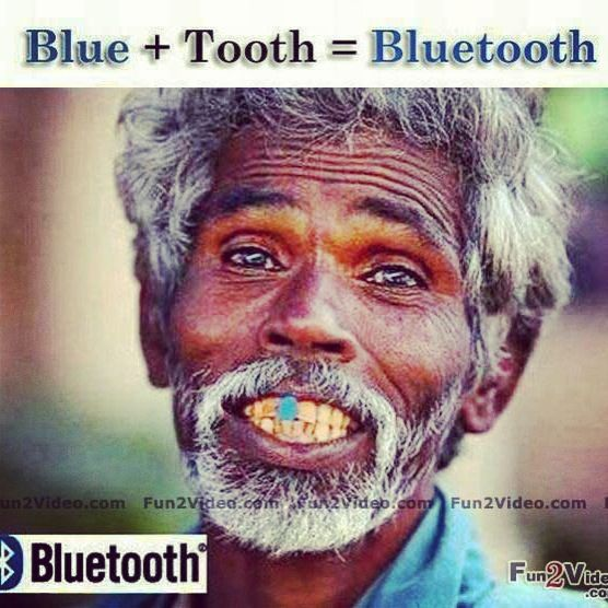 Bluetooth.... This Guy Gets It!