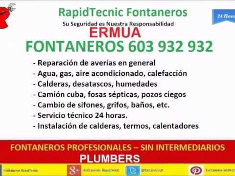 Fontaneros ERMUA 603 932 932