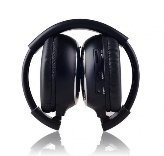 Infrared Stereo Wireless Headphones Headset Ir In Car Roof Dvd Or Headrest Dvd Player A Channels Wireless Headphones Headphones Headset