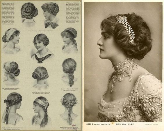 Edwardian Hair-styles   How to Plan a Anne of Green Gables Themed Wedding