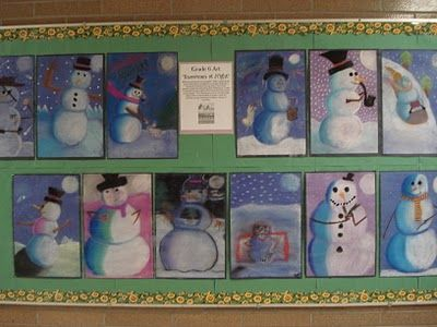 Winter Project - tints and shades - week before break