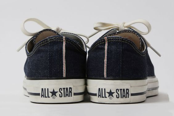 Converse x Beams x Levi's Selvedge Denim All-Star Sneakers