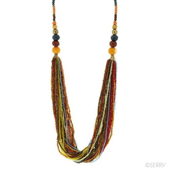 Necklaces - Vivid Beaded Necklace | SERRV