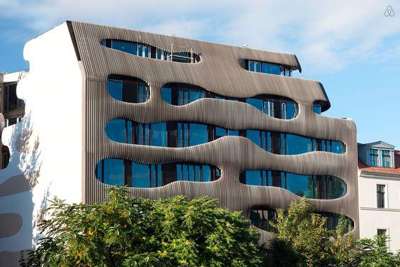 Jürgen Mayer H. Apartments  Apartmenthouse Johannisstrasse Berlin, Germany - Pesquisa Google